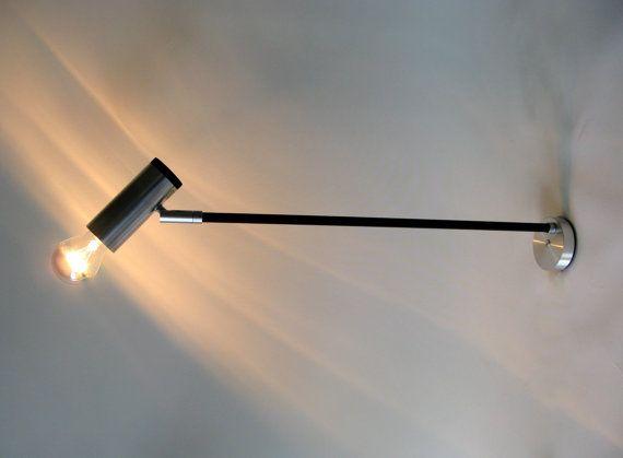 Vintage Potence Wall Bracket Lamp Philips 1970s