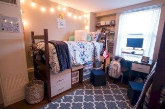 48 Incredible Dorm Room Storage Organization Ideas images