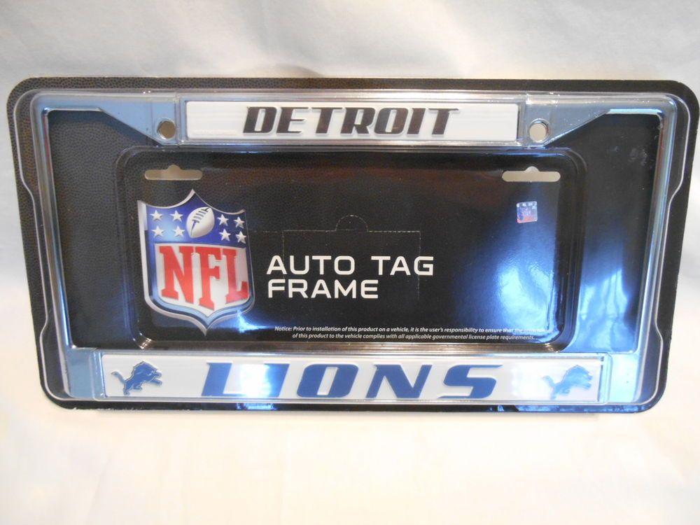Detroit Lions NFL AUTO TAG FRAME SR$14 NEW #RicoIndustries ...