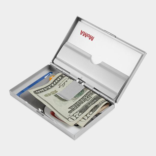 Muji aluminum business card case gifts for peeps i love for Muji business card holder
