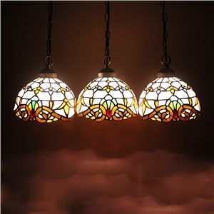 8 inch european country vintage glass shade indoor tiffany 8 inch european country vintage glass shade indoor tiffany chandelier bedroom pendant ceiling light aloadofball Images