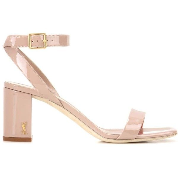 Saint Laurent LouLou 70 patent leather sandals OKadute5
