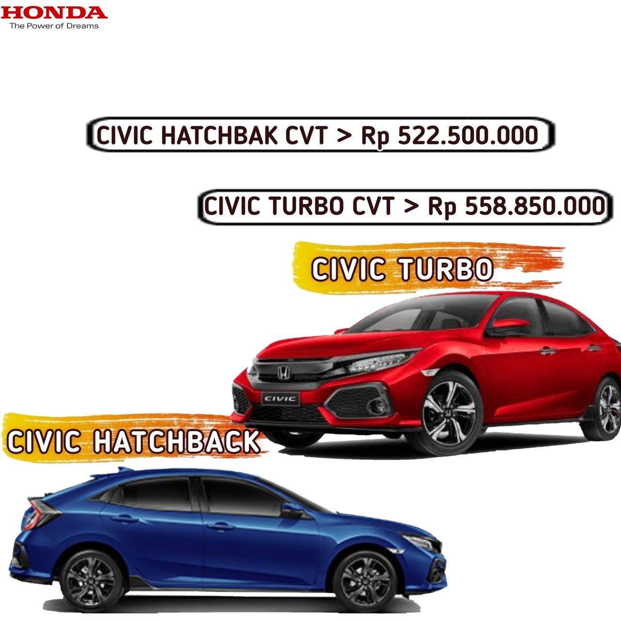 Harga Honda Civic Hatchback Civic Sedan Lombok Ntb 2020 Honda Motor Mobil