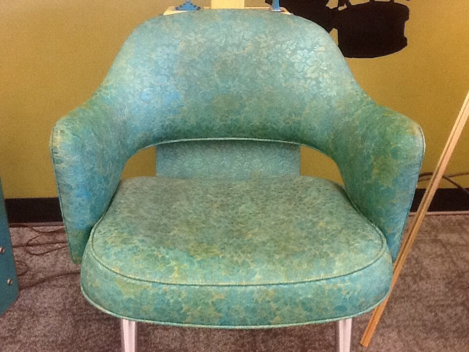 1950's beauty SALON HAIR DRYER CHAIR **WORKS** Can Deliver
