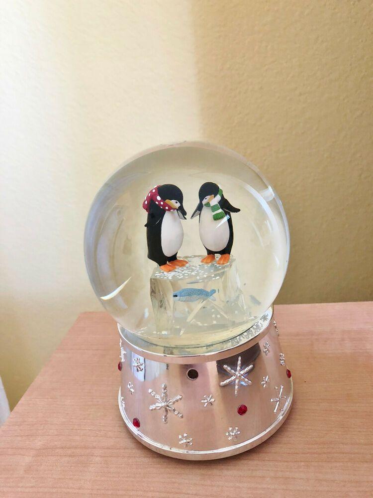 reed and barton snow globe
