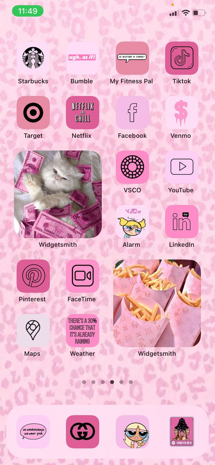 Boujee Pink Aesthetic Iphone Ios 14 App Icons Iphone Home Screen Widgets Pink Ios 14 Icons Ios 14 Shortcuts Pink Wallpaper Widgetsmith In 2021 Homescreen App Icon Pink Aesthetic