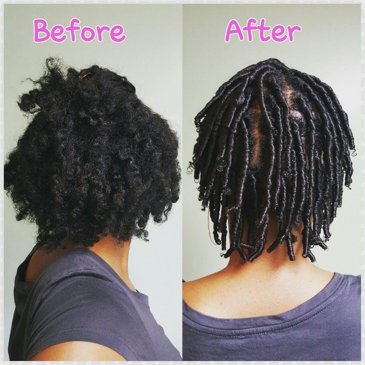 My Starter Locs Locs Hairstyles Natural Hair Styles Short Natural Hair Styles