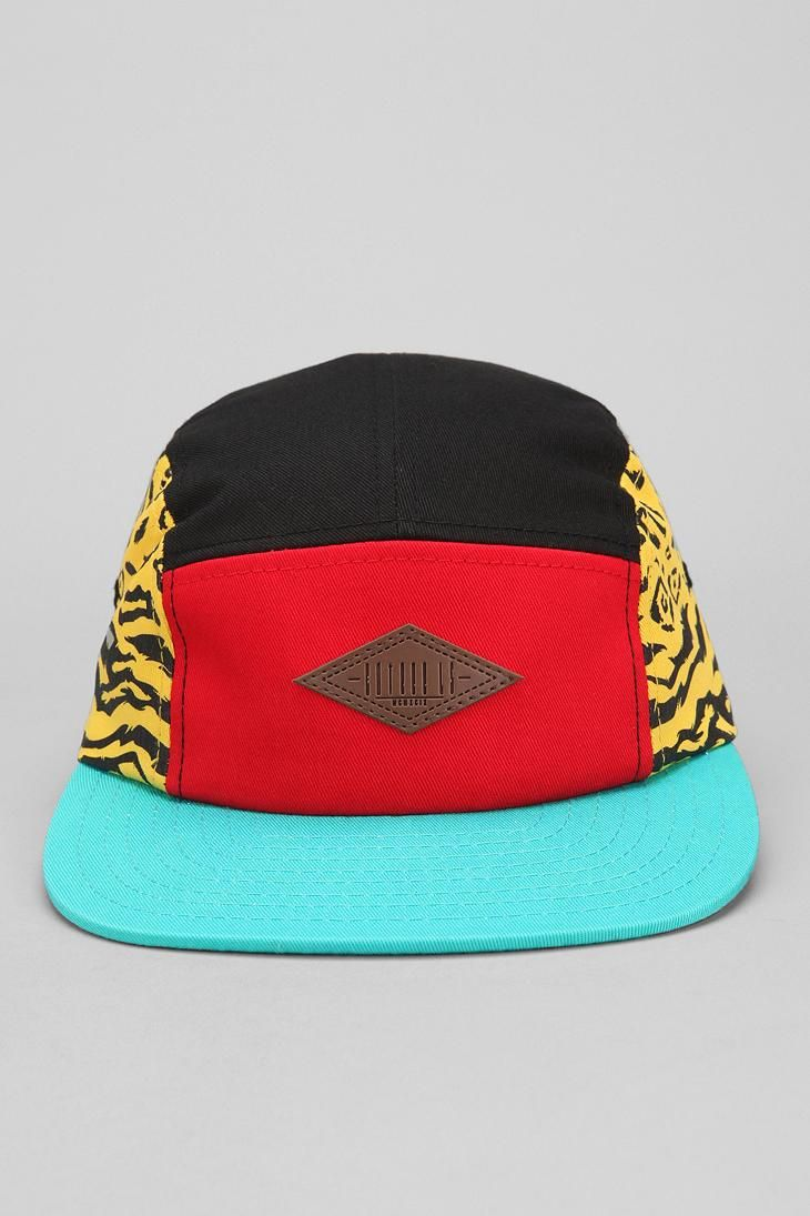 50550404039 Entree Colorblock Wild 5-Panel Hat  urbanoutfitters
