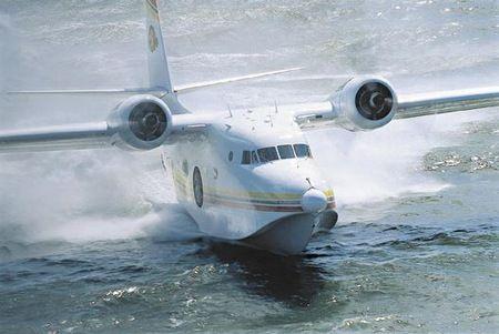 Jimmy Buffett owns a military amphibious plane like this one