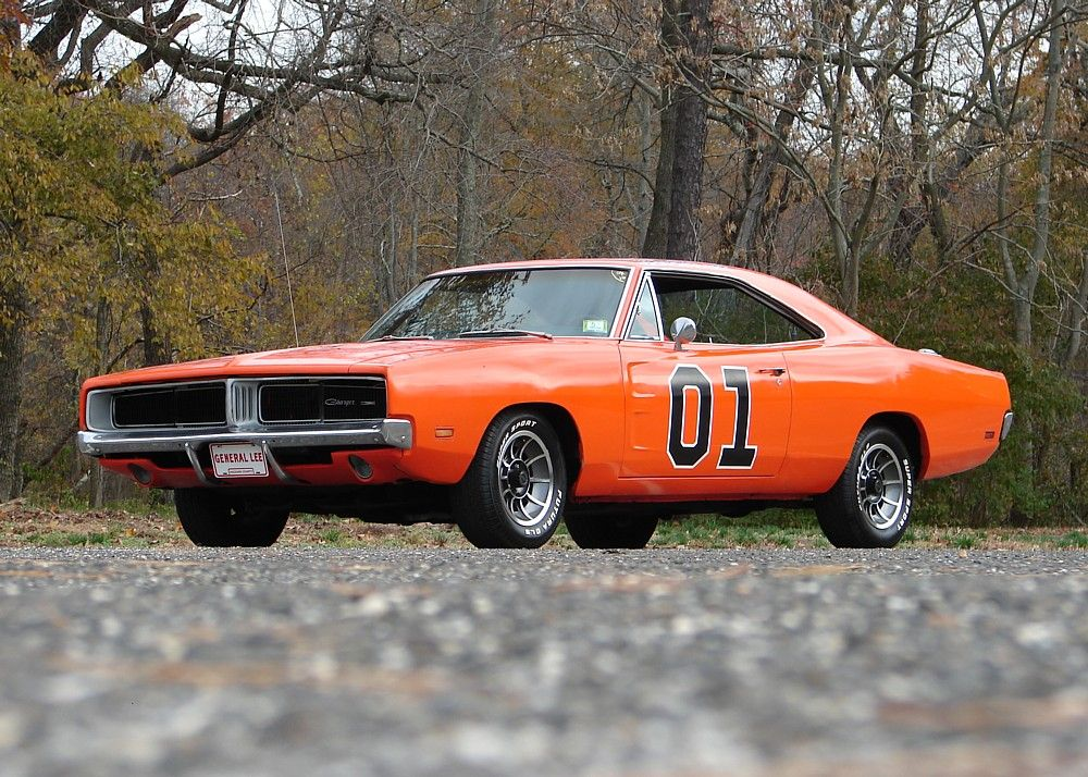 General Lee Orange Dodge Charger Muscle Car - Don\'t mess with auto ...
