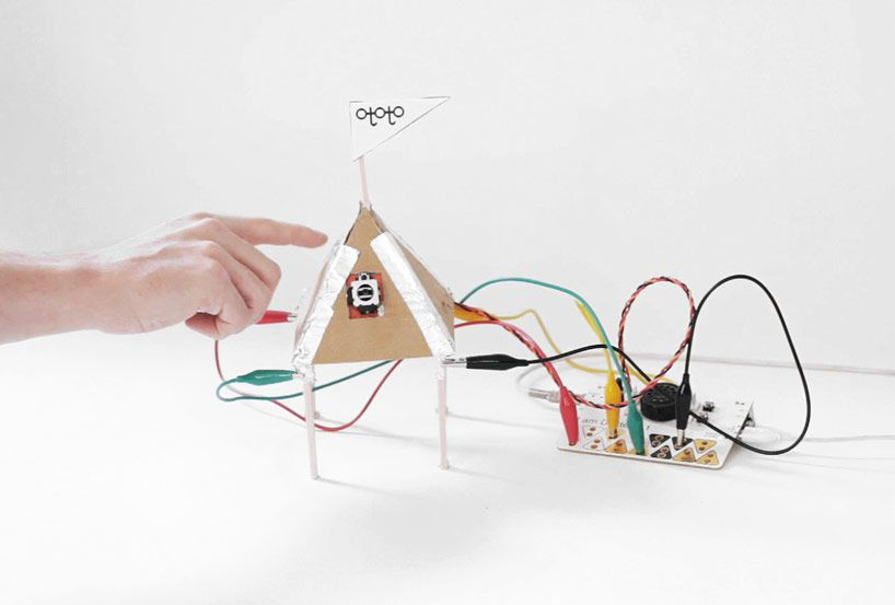 OTOTO by dentaku: PCB synthesizer for DIY musical instruments - designboom | architecture