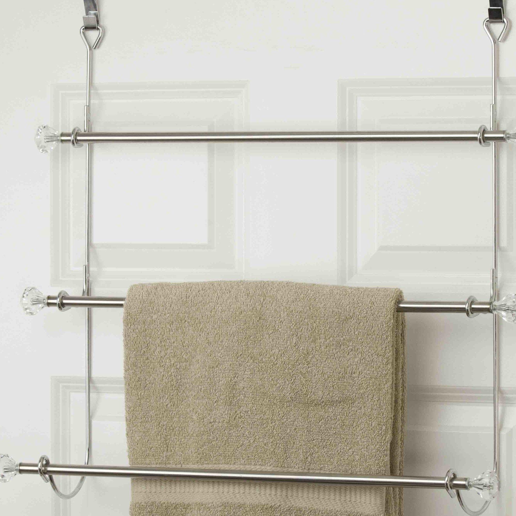 3 Tier Over The Door Towel Rack Towel Rack Towel Rack Bathroom