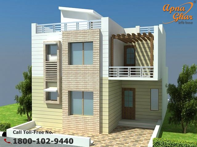 3 Bedrooms Duplex House Design. Area:162 sq mt  Click (http://apnaghar.co.in/house-design-217.aspx) to view free floor plans (naksha) and other specifications for this design. You may be asked to signup and login. Website: www.apnaghar.co.in, Toll-Free No.- 1800-102-9440, Email: support@apnaghar.co.in