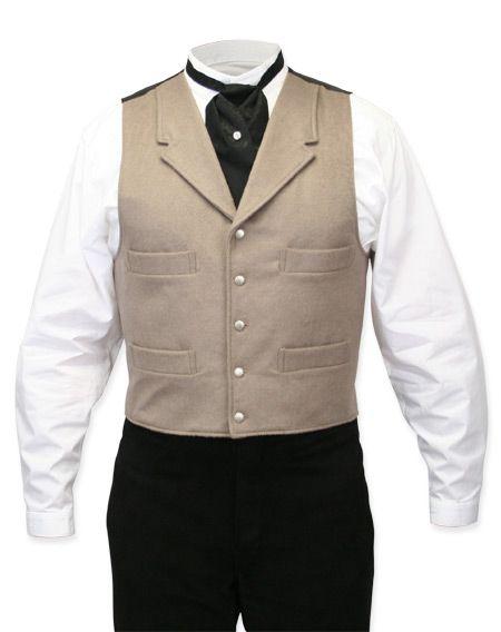 Madrona Vest - Dove Gray [003065S]