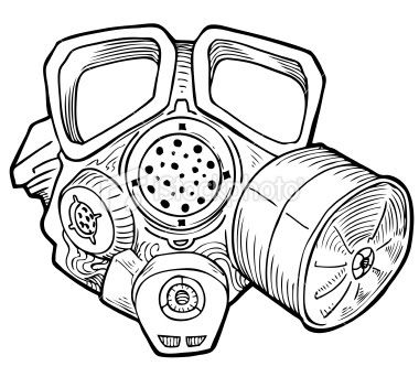 Mask Tattoos Designs And Ideas Page 134 Gas Mask Drawing Gas