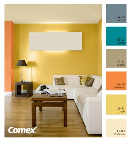 Comex Color 007 Colores Para Salas Pequenas Colores De Interiores Colores Para Paredes Interiores