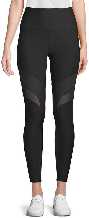 8ea92802a5c65 X by Gottex Women's Mesh-Accented Performance Leggings | My Style ...