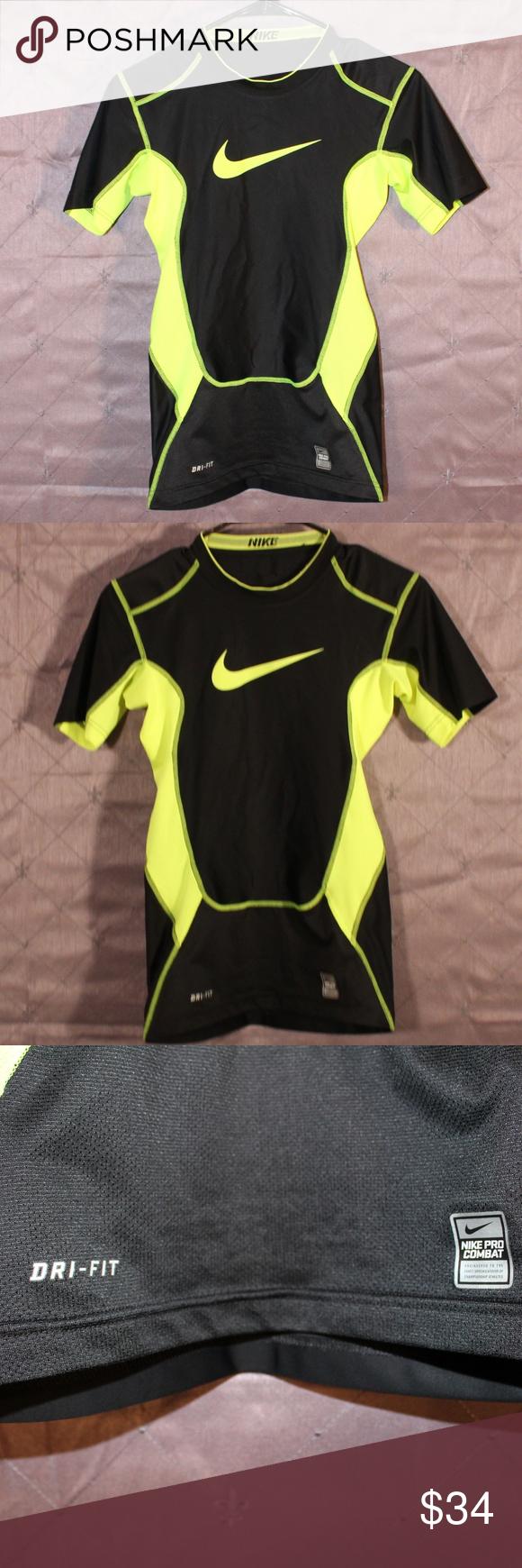 Compression shirt, Nike pro combat, Dri fit