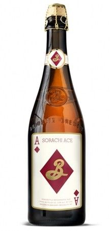 Cerveja Brooklyn Sorachi Ace, estilo Saison / Farmhouse, produzida por Brooklyn Brewery, Estados Unidos. 7.4% ABV de álcool.