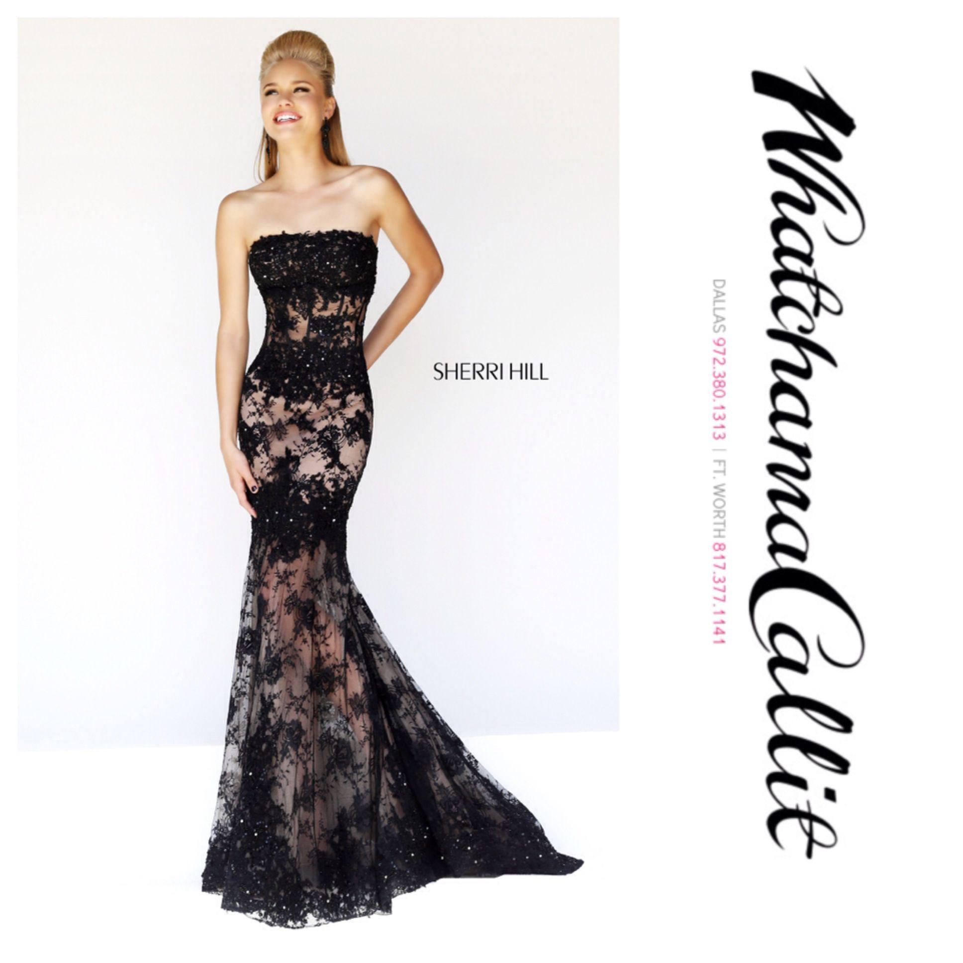 Sherri Hill dress available at Whatchamacallit Boutique for #prom2014 #promdresses #sherrihill #sherrihilldress