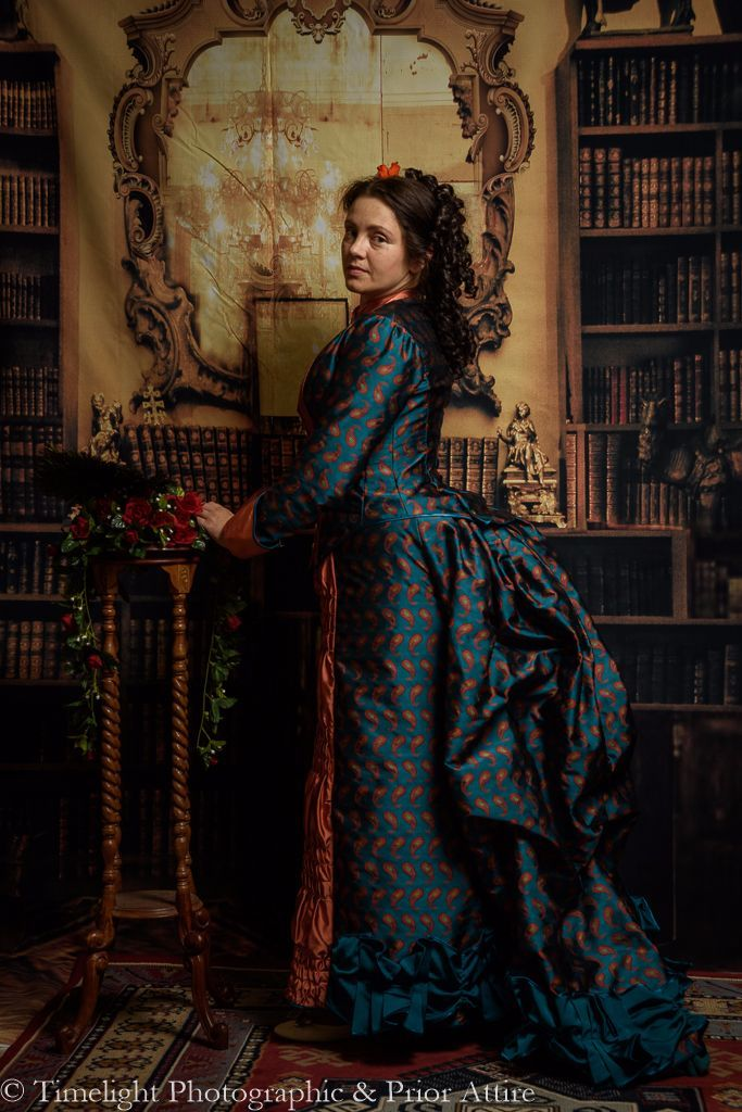 Victorian visiting dress 1874-77, size 12-14 | Projects to Try ...