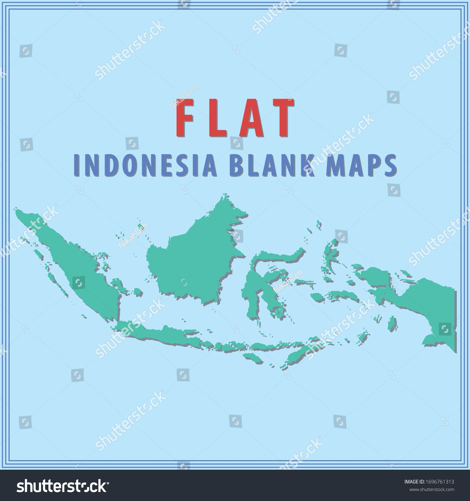 flat design indonesia blank maps indonesia flat design blank map are available for coloring in 2020 map flat design design pinterest