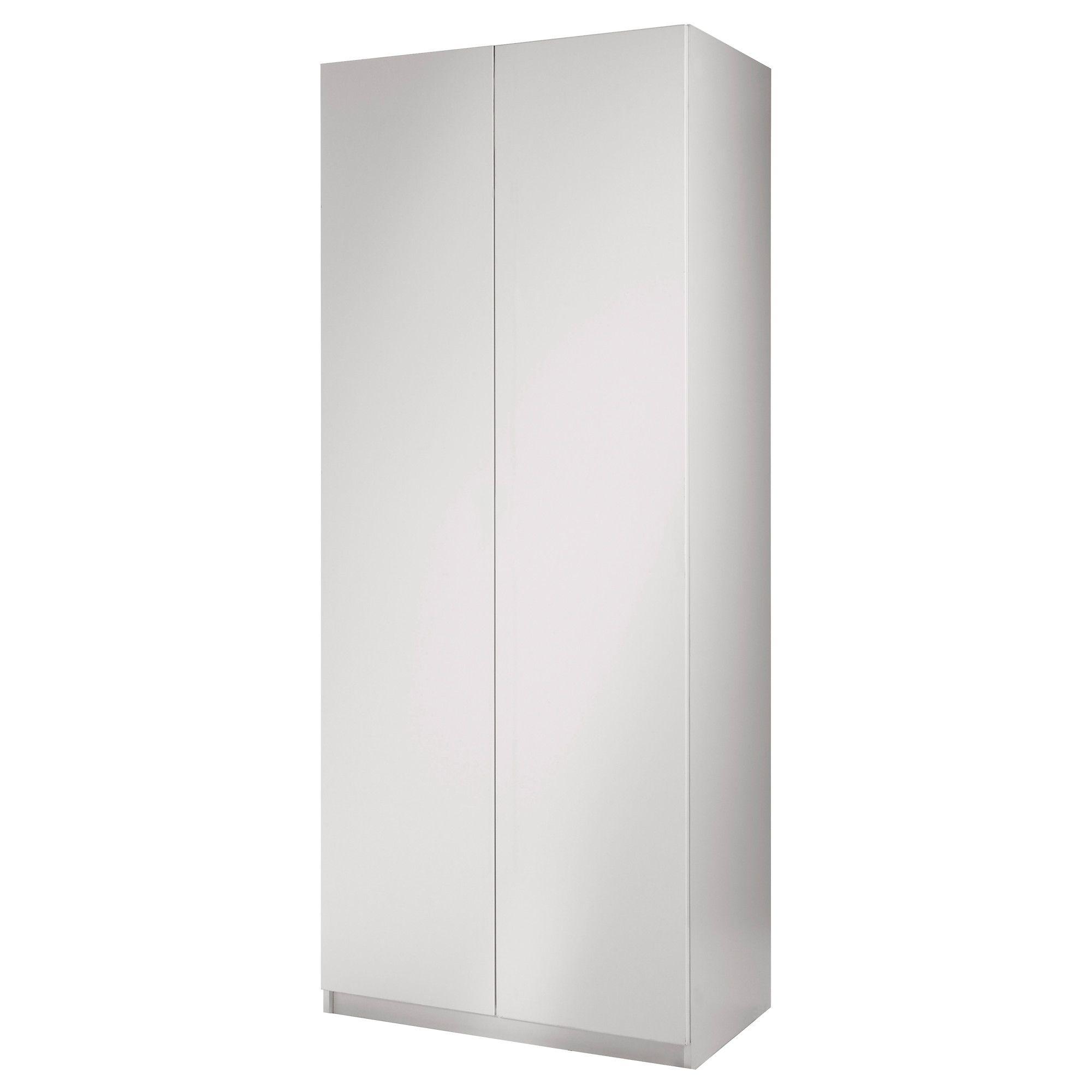 Pax wardrobe with 2 doors ballstad white white 39 1 4x23 1 2x79 1 4 ikea our wishlist - Armoire ikea pax ...