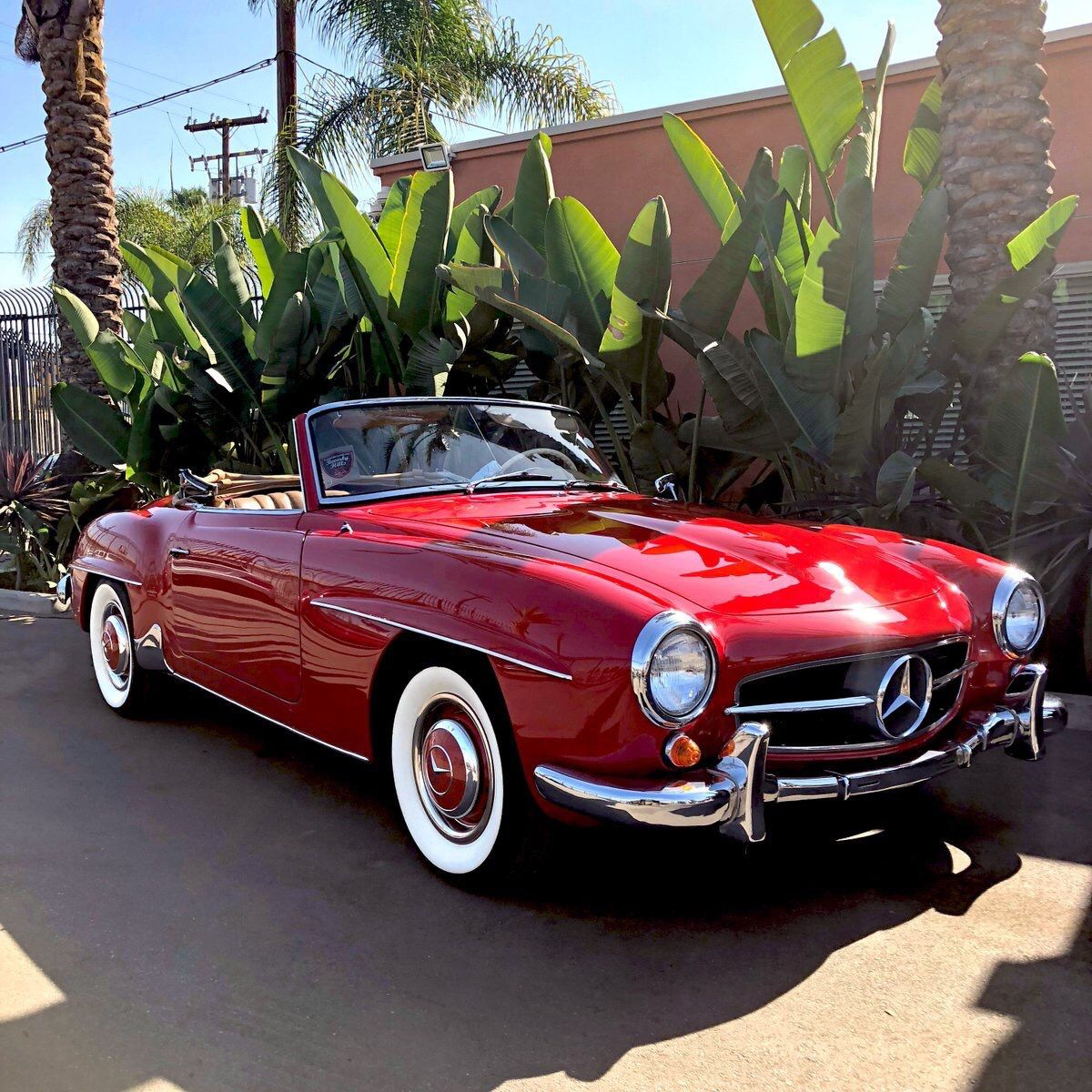 Download Mercedes Benz Wallpaper Convertible Old Red  Pictures