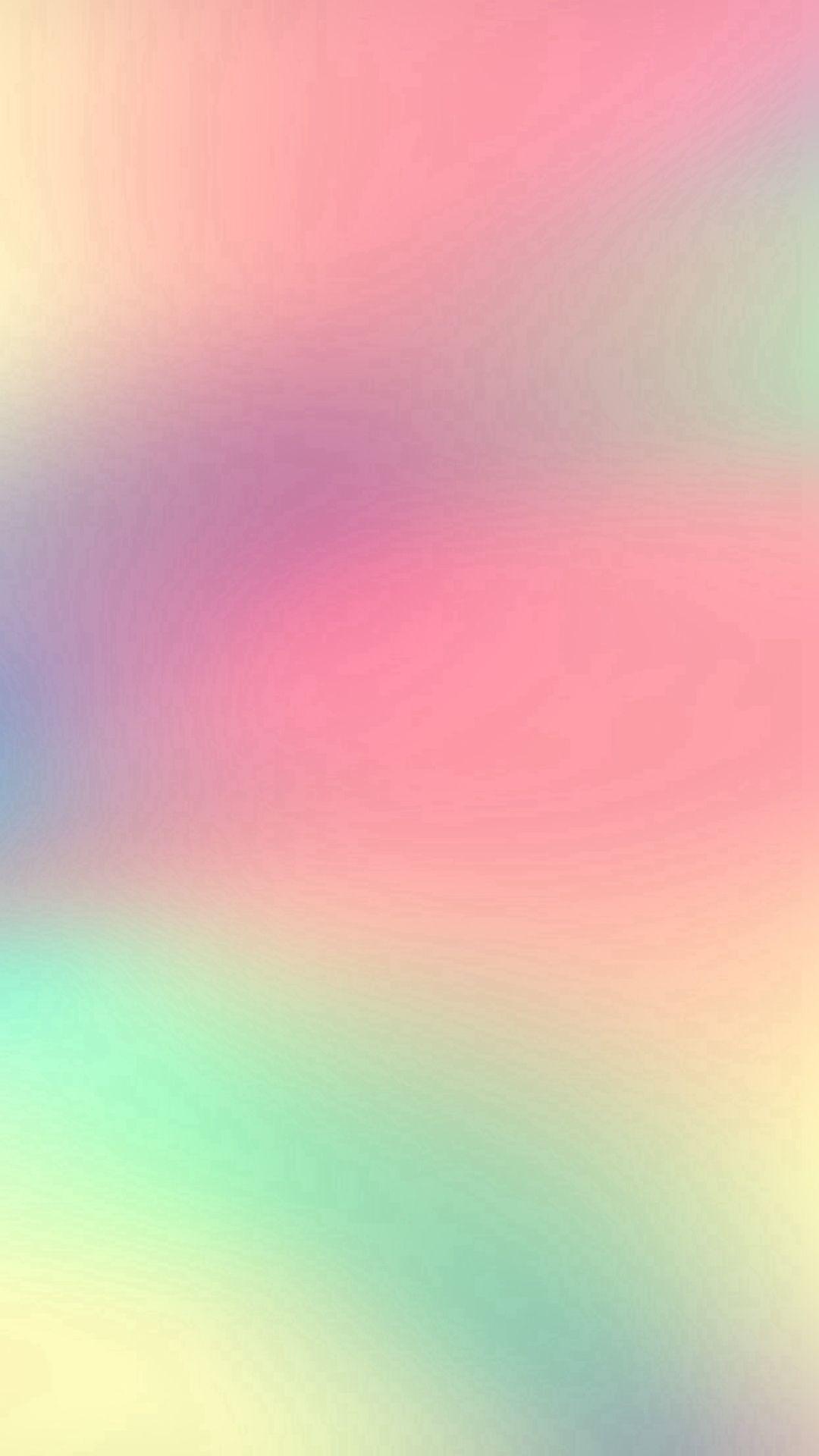 White Pink Memory Begin Again Blur Gradation iPhone 6