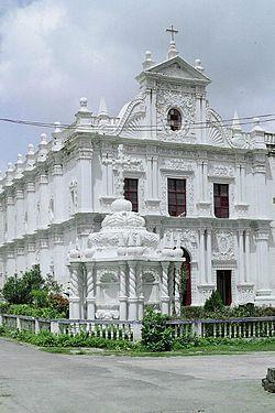 La chiesa di São Paulo a Diu