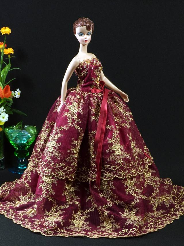 Barbie silkstone 331 | Barbie Beautiful Gowns | Pinterest | Barbie ...