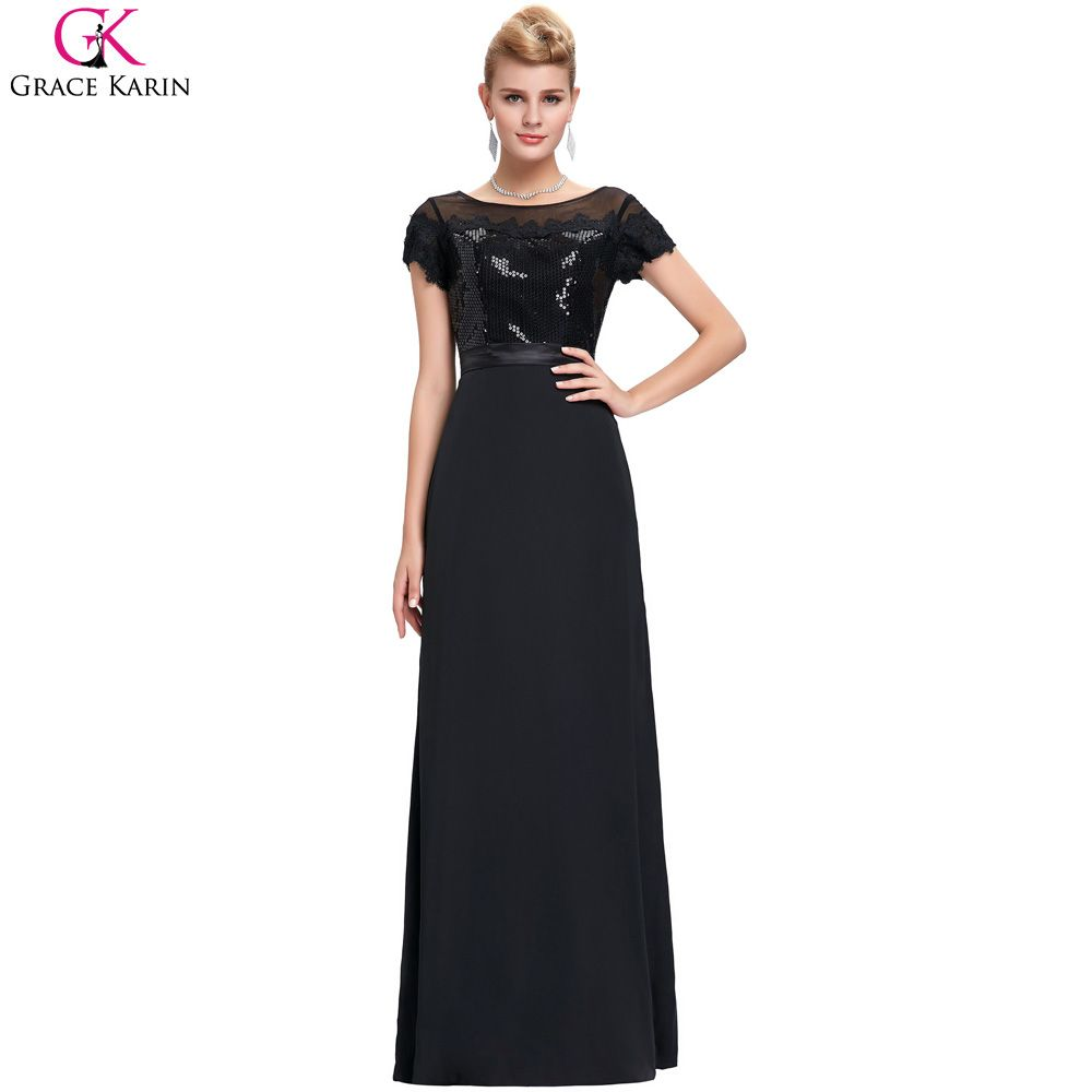 Click to buy ucuc formal evening dresses new grace karin sexy sequins