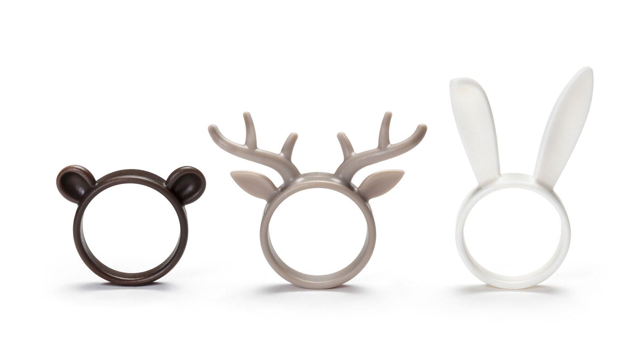 Ototo Napkin ZOO / Napkin Rings – BellaKoola - Cool Design Gift & Lifestyle Shop
