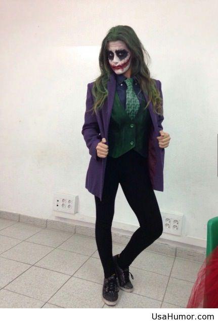 Joker Girl Make Up For Halloween On Imgfave Zukunftige Projekte