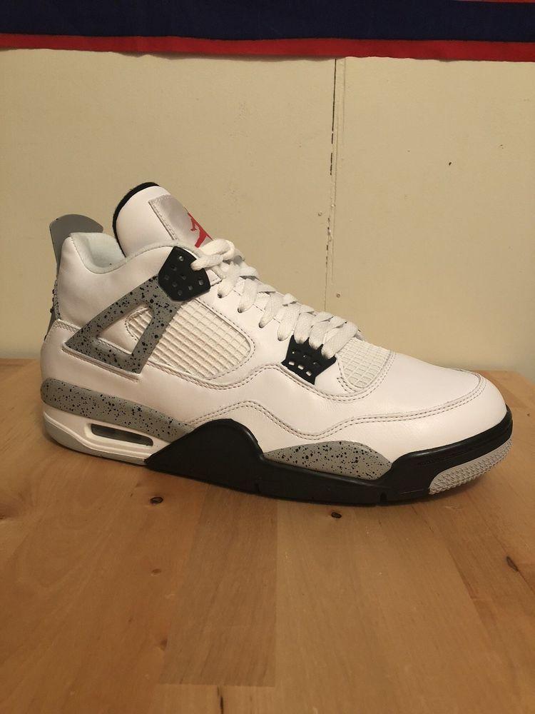 Nike Air Jordan 4 Retro OG White Cement