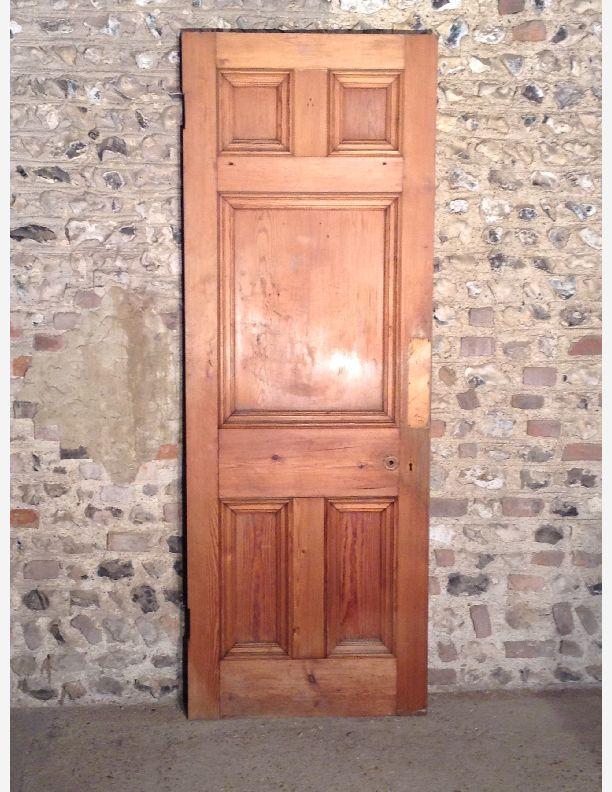 583 Edwardian 5 Panel Internal Door Historic Doors Pinterest