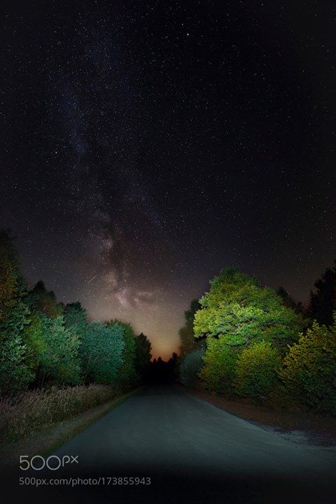 Germany The Milkyway - Sep. '16  Deep in Reinhardswald I could make this…