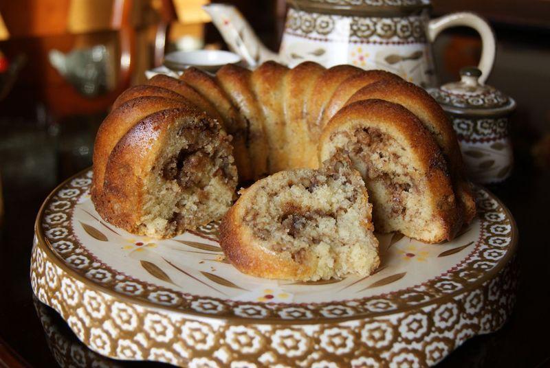 Gluten Free Sour Cream Coffee Cake Recipe By Caryn Recipe Sour Cream Coffee Cake Baking Mix Recipes Coffee Recipes