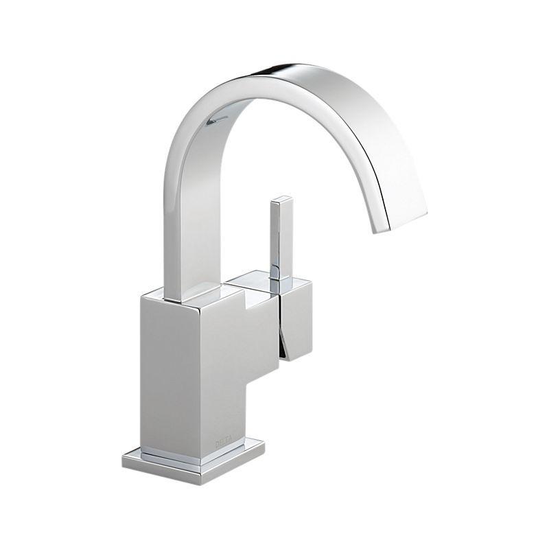 553Lf Vero™ Single Handle Lavatory Faucet  Bath Products  Delta Prepossessing Delta Single Hole Bathroom Faucet Design Inspiration