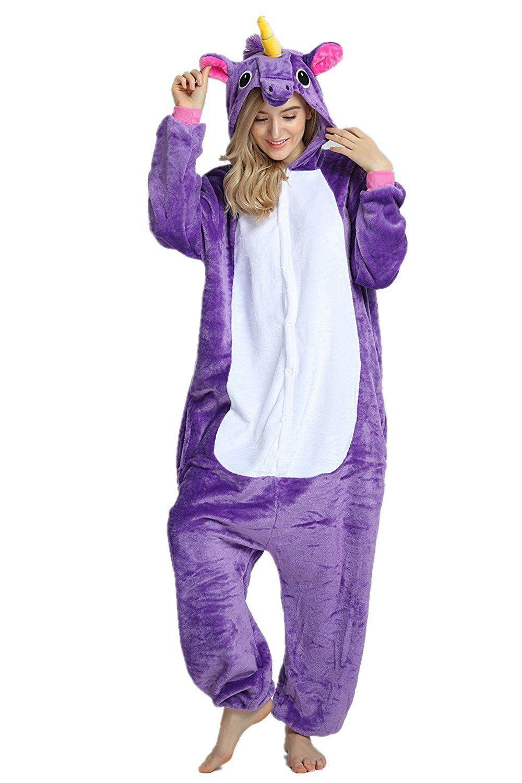 d7fe5c74 Disfraz pijama Unicornio Cartoon Animal Novedad Halloween Pijama ...