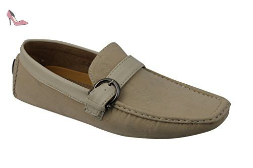 Hommes Chaussures Casual Chaussures Suede Cuir Hommes Mocassins antidérapants Flats Mâles Conduite Chaussures pfzuzaYMA