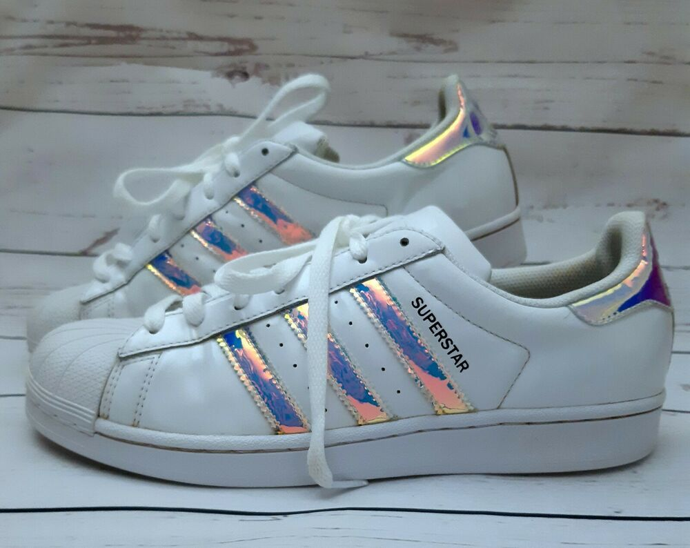 Details about Adidas Womens US 9.5 Originals Superstar White