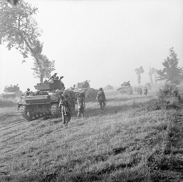 Operation Goodwood British Army S Largest Tank Battle In 25 Amazing Images Battle Of Normandy American Tank Sherman Tank