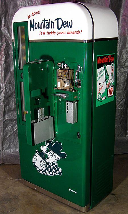 Pop Machine For Sale >> Vending Machine Mountain Dew Soda Vending Machine Soda Machines
