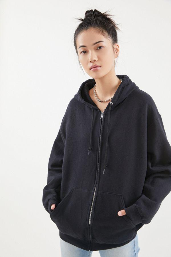 Urban Renewal Vintage Oversized Zip Up Hoodie Sweatshirt In 2020 Sweatshirts Hoodie Zip Hoodie Outfit Hoodie Jacket Outfit