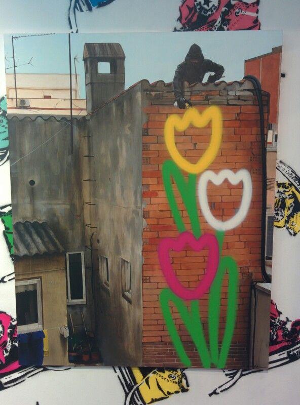 #graffitipop - Antonio de Felipe / Madrid (Spain) 2015