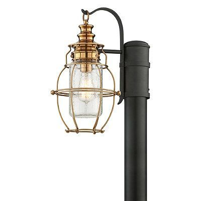 Aidan Post Mount Lantern Frontgate Products Outdoor