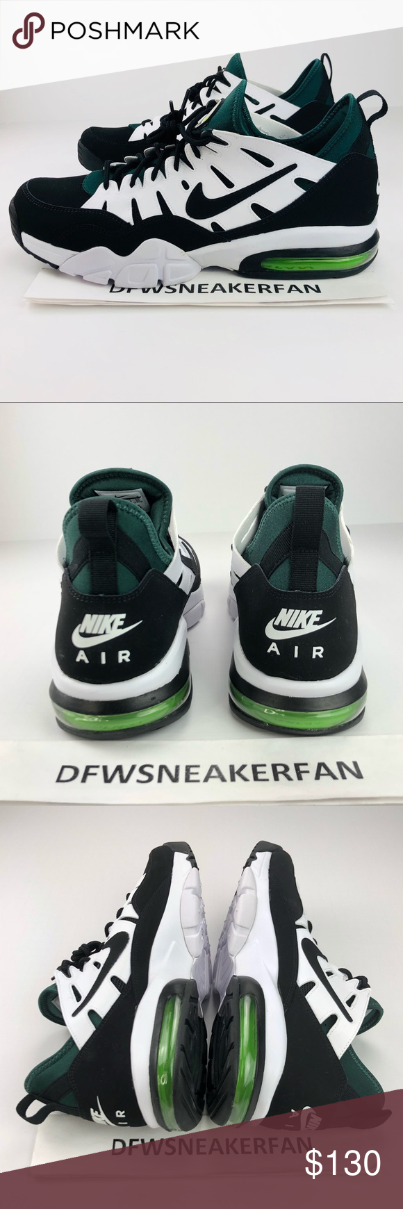 on sale 9f95b c2cd0 Nike Air Max '94 Retro Mens's various Sizes New Without Box Mens Size 9,  9.5,10,11.5,12, 13 100% Authentic Fast Shipping Nike Shoes Sneakers
