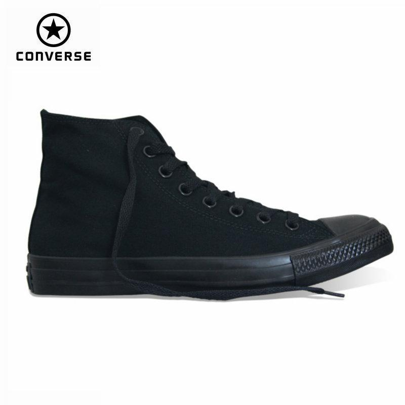 new concept 8cf69 44919 classic Original Converse all star canvas shoes 2 color high classic  Skateboarding men and women s sneakers shoes