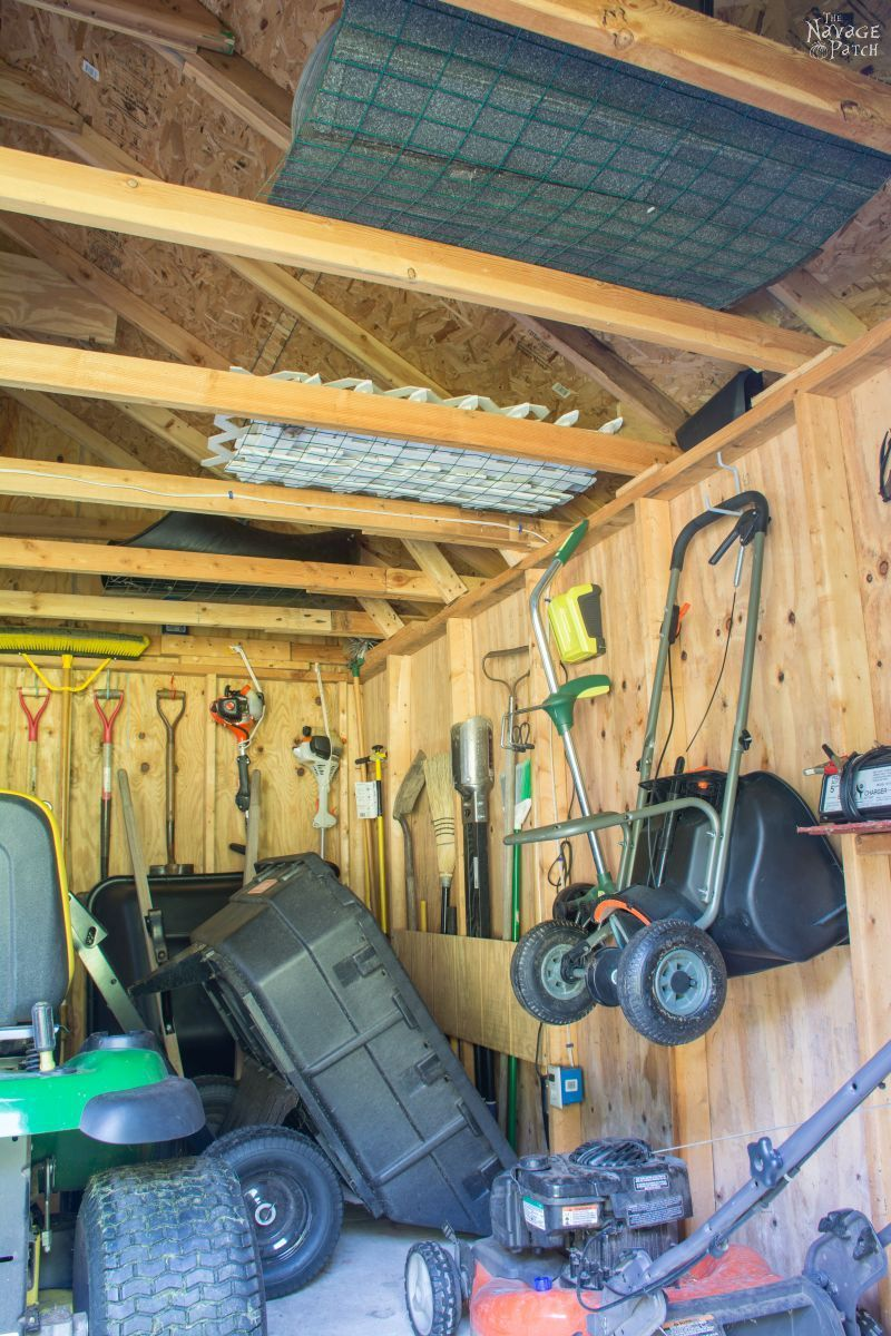 Garden Shed Organization Thenavagepatch
